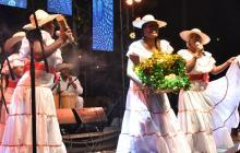 Así sonó el grupo invitado Canalón de Timbiquí en la Noche del Río