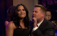 Demi Lovato vs. James Corden: Duelo de divas