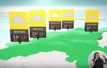 En video   Ideam pronostica lluvias fuertes esta noche en la Costa