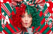 Sia celebra la Navidad en 'Santa's Coming For Us'