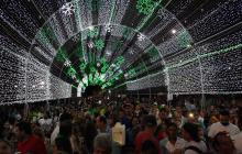 En video | Así se ven los parques de Barranquilla con la iluminación navideña