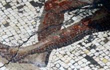 Hallan en Israel un mosaico de la época romana