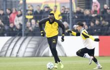 Dos goles y un caño, los primeros 'pincelazos' de Usain Bolt en entrenamiento del Borussia Dortmund