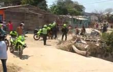 Operativo de la Policía en Villa Caracas terminó en balacera