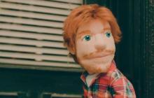 Ed Sheeran es una marioneta despechada en video de 'Happier'