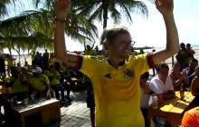 La inesperada reacción de un polaco en Riohacha tras la derrota 3-0 ante Colombia