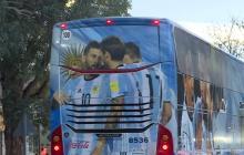 Sampaoli regresó a Argentina en silencio