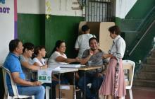 Poca afluencia de votantes en la Región Caribe en lo que va de la jornada