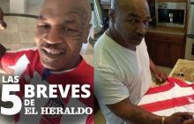 Las 5 breves de EH   La historia detrás de las fotos de Mike Tyson con la camiseta de Junior
