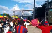 Así celebraron el gol del Unión en el parque La Equidad