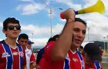 Samarios acuden en masa al estadio para apoyar al Unión