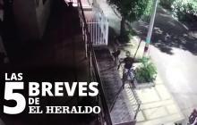 Las 5 breves de EH | En video queda registrado cuando mujer se opone a atraco en Las Palmas