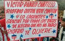 En video | Ríofrío se calentó con la llegada de Víctor Cantillo