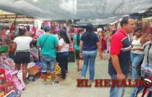 El corre corre navideño en el Centro de Barranquilla
