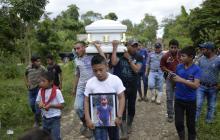 Guatemala sepulta a niña muerta en EEUU donde falleció otro menor