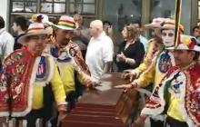 En video   Con música de Carnaval despiden a 'Nito' Montaño