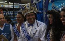 Rey Momo recibe llave de Río y declara abierto el Carnaval