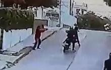En video   Pensionado de la Policía hiere a delincuente que lo iba a atracar
