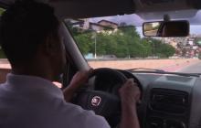 """El """"Uber"""" que opera en la excluida periferia de Sao Paulo"""
