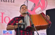 Luis Alberto Monsalvo, uno de los aspirantes a rey vallenato 2019.