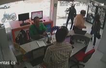 En video queda registrado hurto a mano armada en el norte de Barranquilla