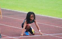 En video | ¡Imperdible! Rudolph 'Blaze' Ingram, el futuro Usain Bolt