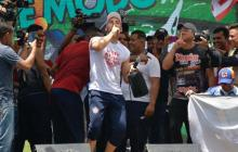 En video | Viera bailó champeta e hizo el pase del silenciador