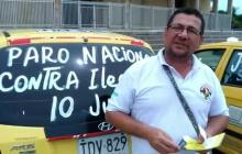 En video | Taxistas de Barranquilla anuncian paro para el próximo 10 de julio