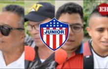 DT Callejero   Junioristas, contentos con el debut en Liga y el desempeño de 'Cariaco'
