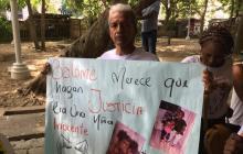 En video | Familiares de Salomé exigen justicia