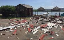 En video | Vendaval causa estragos en Puerto Velero