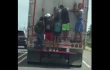 En video   Imprudencia  de jóvenes en carretera del Caribe