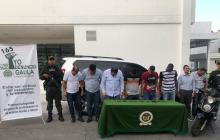 En video   Así fue la captura de los involucrados en el secuestro de Fito Acosta y su esposa