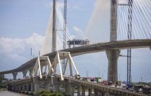 En video   Recorrido por el nuevo Puente Pumarejo que será entregado el 20 de diciembre