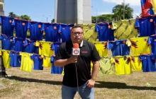 En video | En los alrededores del estadio Hernán Ramírez Villegas ya hay ambiente de Preolímpico