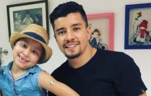 """En video   """"Estamos bien"""", publicó familia de Sherman Cárdenas sobre el estado de salud de su hija"""