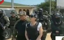 En  video | Se conocen primeras imágenes del traslado de Aida Merlano