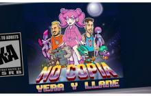 Yera y Llane, al mejor estilo de los videojuegos noventeros en 'No copia'