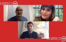 #EncuentrosEH | Arévalo y Martina La Peligrosa, juntos en 'Tu boca y la luna'