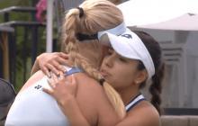 El gran gesto de María Camila Osorio con su rival tras retirarse por lesión