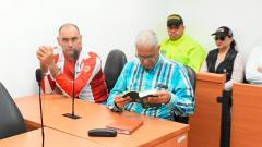 Nilson Mier durante la audiencia de imputación de cargos.