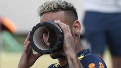 Neymar espera estar inspirado y guiar a Brasil al triunfo.