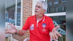 El técnico Julio Avelino Comesaña durante la entrevista con EL HERALDO.