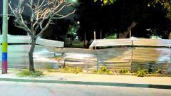 Aspecto actual del parque La Virgencita, ubicado en el barrio Las Palmas.