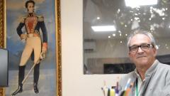Jon Bilbao Baroja en la oficina de Monómeros en Barranquilla.