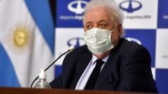 Ginés González García, ministro de Salud de Argentina.