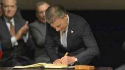 El Acuerdo de Paz se firmó hace tres años.