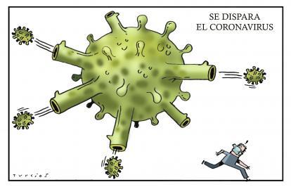 Caricatura de El Mundo de Turcios para el jueves 4 de junio de 2020.