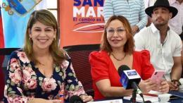 Virna Johnson y Carmen Patricia Caicedo.
