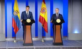 Declaración conjunta de Duque y Sánchez tras su encuentro en Casa de Nariño